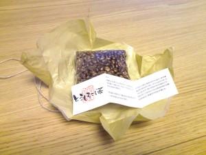 トウモロコシもお茶になるんですねー。新発見。青梅 繭蔵にて トウモロコシ茶 250g 500円
